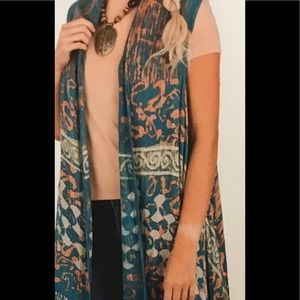 BL/BL 219301 Duster/Cardigan Sacred Threads